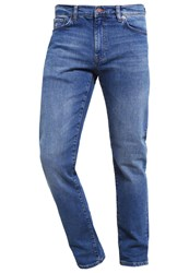 Gant Straight Leg Jeans Mid Blue Blue Denim