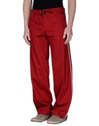 Hugo Casual Pants Maroon