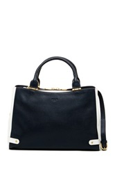 Lk Bennett Jessica Leather Tote Blue