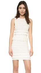 Endless Rose Pom Pom Dress Off White