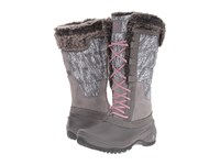 The North Face Shellista Ii Tall Smoked Pearl Grey Nostalgia Rose Women's Cold Weather Boots Gray