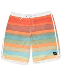 Rusty Phillips Striped Board Shorts Multi