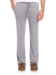 Hanro Knit Lounge Pants Medium Grey