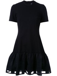 Markus Lupfer Drop Waist Dress Black
