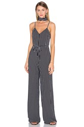 House Of Harlow X Revolve Gia Jumpsuit Black And White