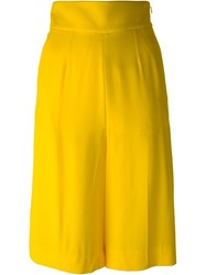 Sonia Rykiel Cropped Sailor Trousers Yellow And Orange
