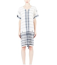 Alison Welsh Cotton Plant Dress Black