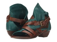 Miz Mooz Cassidy Emerald Women's Sandals Green