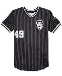 Hudson Outerwear Men's Escobar Baseball Jersey T Shirt Black