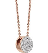 Monica Vinader Ava 18Ct Rose Gold Plated Necklace