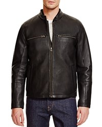 Cole Haan Leather Two In One Jacket