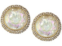Kate Spade Absolute Sparkle Round Studs Crystal Ab Earring Pink