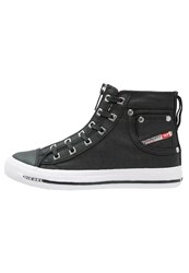 Diesel Exposure Iv Zip W Hightop Trainers Black
