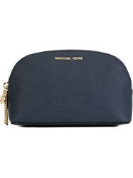 Michael Michael Kors 'Alex' Make Up Bag Blue
