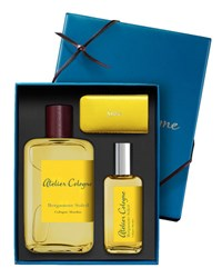 Atelier Cologne Bergamote Soleil Cologne Absolue 200 Ml With Personalized Travel Spray 30 Ml Bordeaux