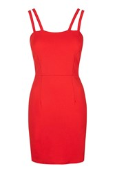 Wal G Double Strap Mini Bodycon By Red