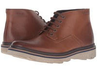 Clarks Frelan Hike Cognac Leather Men's Boots Brown