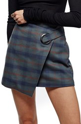 Free People Women's Teenage Crush Plaid Miniskirt