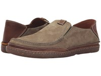 Clarks Trapell Form Olive Nubuck Men's Slip On Shoes