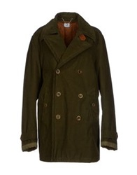 C.P. Company Coats Military Green