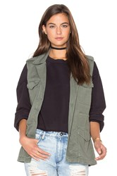 Sanctuary Gigi Vest Army