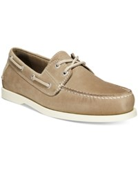 Dockers Men's Vargas Boat Shoes Men's Shoes Gray
