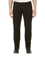 Buffalo David Bitton Six X Slim Straight Colored Jeans Espresso