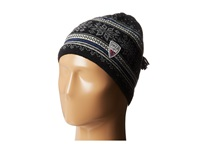 Dale Of Norway Grotli Hat Black Off White Indigo Cream Knit Hats