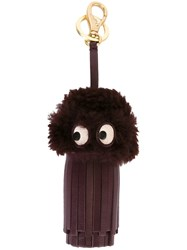 Anya Hindmarch Tassel Keyring Pink And Purple