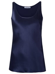 Gloria Coelho Sleeveless Blouse Blue