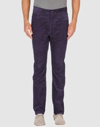 Wesc Casual Pants Dark Purple