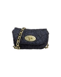 Mulberry Handbags Dark Blue