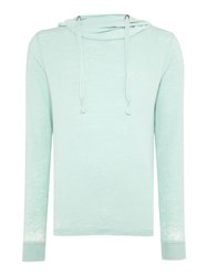 Red Soul Estienne Plain Funnel Neck Pullover Sweatshirt Mint
