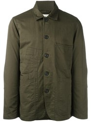 Universal Works 'Bakers' Jacket Green