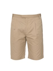 Gucci Tailored Cotton And Silk Blend Shorts