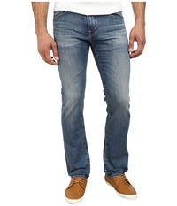 Ag Adriano Goldschmied Matchbox Slim Straight Leg Denim In 15 Years Cape 15 Years Cape Men's Jeans Blue