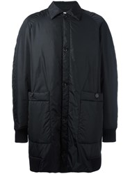 Societe Anonyme Single Breasted Coat Black