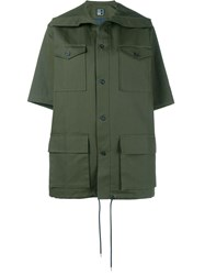 1205 Field Short Sleeve Jacket Green
