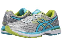 Asics Gt 2000 4 Silver Turquoise Lime Punch Women's Running Shoes Gray