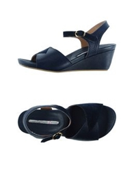 Manufacture D'essai Sandals Dark Blue