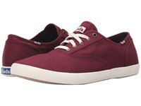Keds Champion Army Twill Cvo Burgundy Men's Lace Up Casual Shoes