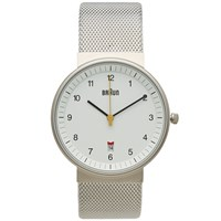 Braun Bn0032 Watch Silver