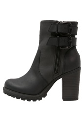 Replay Hives High Heeled Ankle Boots Black
