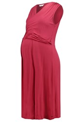 Bellybutton Vanni Jersey Dress Dry Rose Red