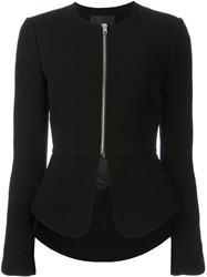 Alexander Wang Peplum Jacket Black