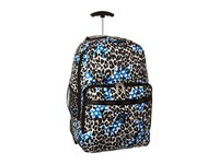 Lesportsac Luggage Rolling Backpack Animal Dots Backpack Bags Gray