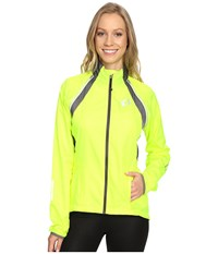 Pearl Izumi W Elite Barrier Convertible Cycling Jacket Screaming Yellow Smoked Women's Workout