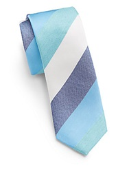 Original Penguin Nash Striped Tie Aqua