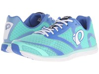 Pearl Izumi Em Road N 0 V2 Aqua Mint White Women's Running Shoes Blue