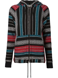 Rag And Bone Rag And Bone Baja Patterned Beach Hoodie Multicolour